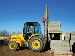 JCB 930 Lifting Materials