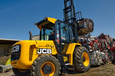 JCB 930 Straight Mast Rough Terrain Forklift