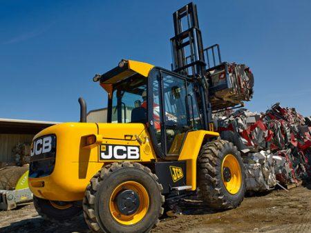 JCB 930 Straight Mast Rough Terrain Forklift