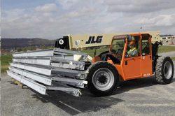 JLG G6-42A moving materials