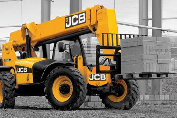 JCB 506-36 material moving