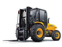 Straight Mast Rough Terrain Forklift